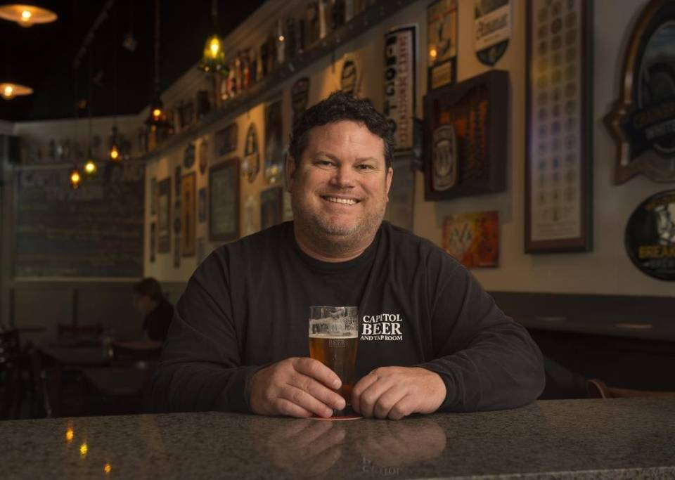 Ken Hotchkiss at his beer bar, Capitol Beer & Taproom, known as one of the best places to find exciting and ever-changing beer lists in Sacramento. Jose Luis Villegas - jvillegas@sacbee.com